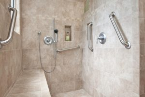 accessible showers for elderly
